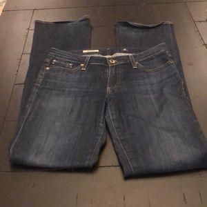 AG Jessie Curvy Bootcut Jeans